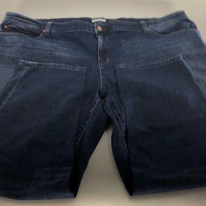 Eileen Fisher 24W Women's Blue Denim Jeans EUC